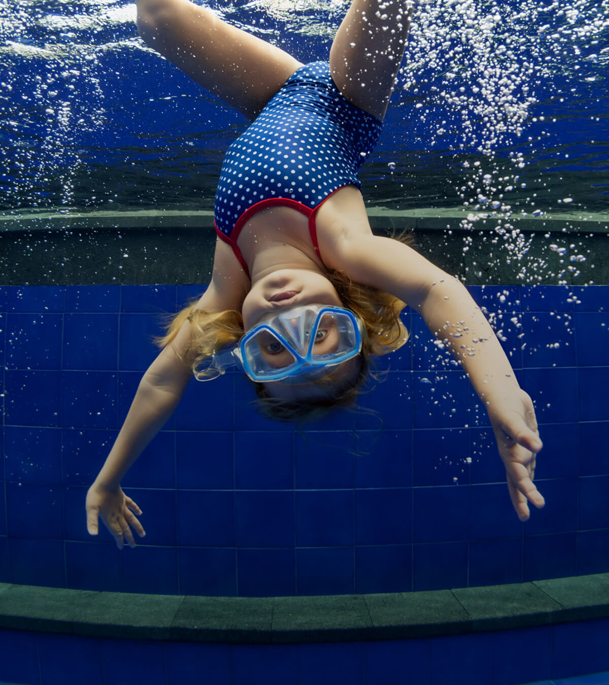Book your little one into swimming lessons